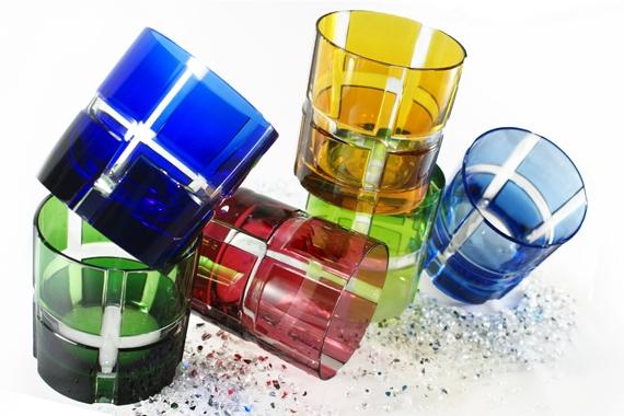 Farbige Gläser